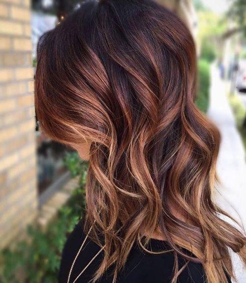 45 Best Auburn Hair Color Ideas Dark Light Medium Red Brown Sha Brown Hair With Blonde Highlights Black Hair With Highlights Blonde Highlights On Dark Hair