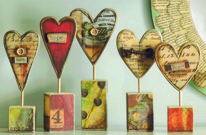 Heart Sculptures