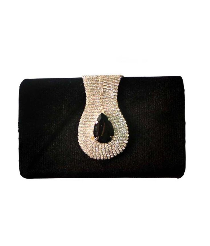 Bhamini S112111318BL Black Clutch, http://www.snapdeal.com/product/bhamini-s112111318bl-black-clutch/1859575624
