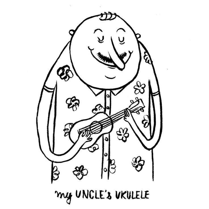DAY 21 of my funny online advent calendar… my Uncle's Ukulele!
