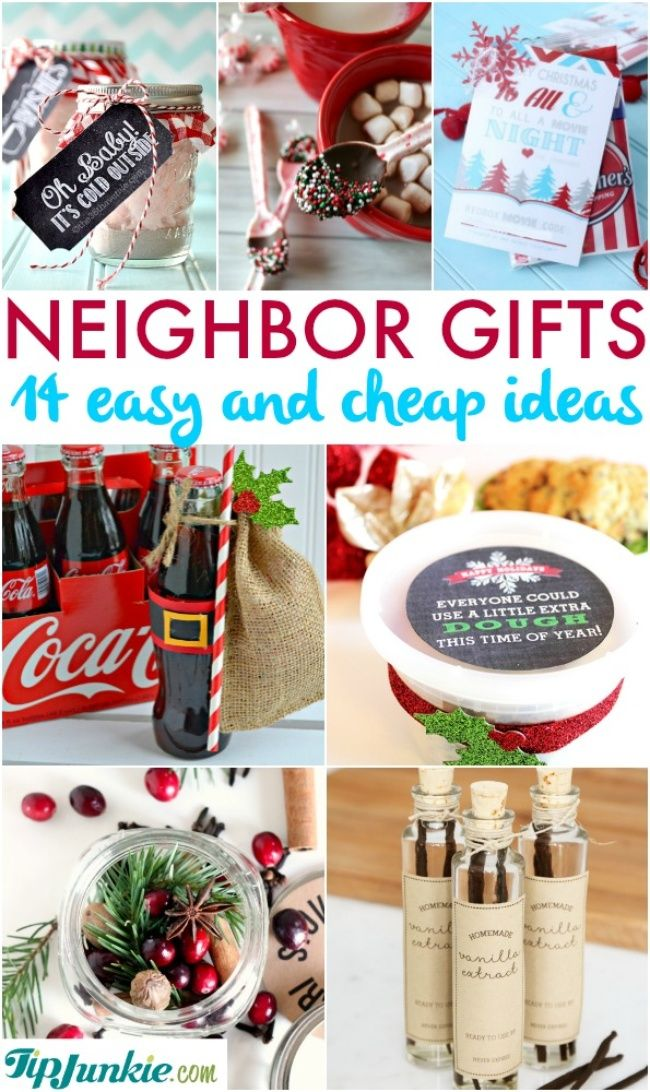 14 Easy and Cheap Ideas for Neighbor Gifts