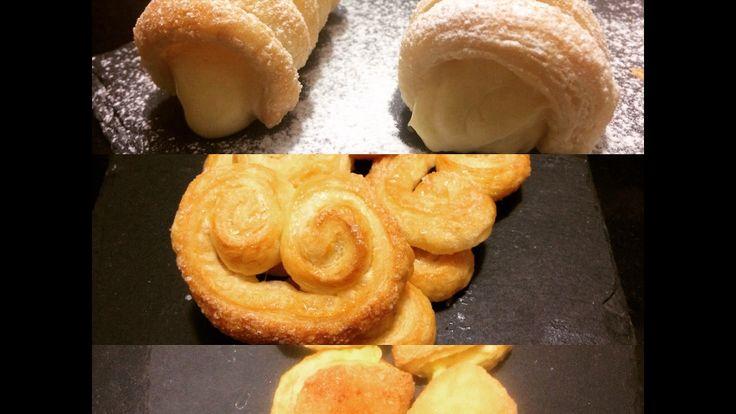 Ecco tre facili e veloci #ricette per utilizzare i ritagli di #pasta #sfoglia!  //  Here you have 3 #EASY ad super #YUMMY ideas to #recycle the #puff #pastry #leftovers!  #recipe #ricetta #recette #rezept #pastasfoglia #puffpastry #pate #feuillete #patefeuillete #creme #cremepatissiere #pastry #pasticceria #patisserie #crema #pasticcera #ventaglietti #cannoncini #saccottini #bresciane #pinoli #pine #nuts #pinenuts #foodnetwork #foodblog #blog #italianfood #italianpastry #frenchfood  #riciclo