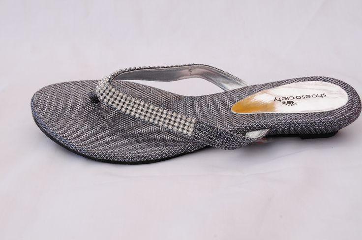 Glitterati! Summer nights will love these sparkly sandals!