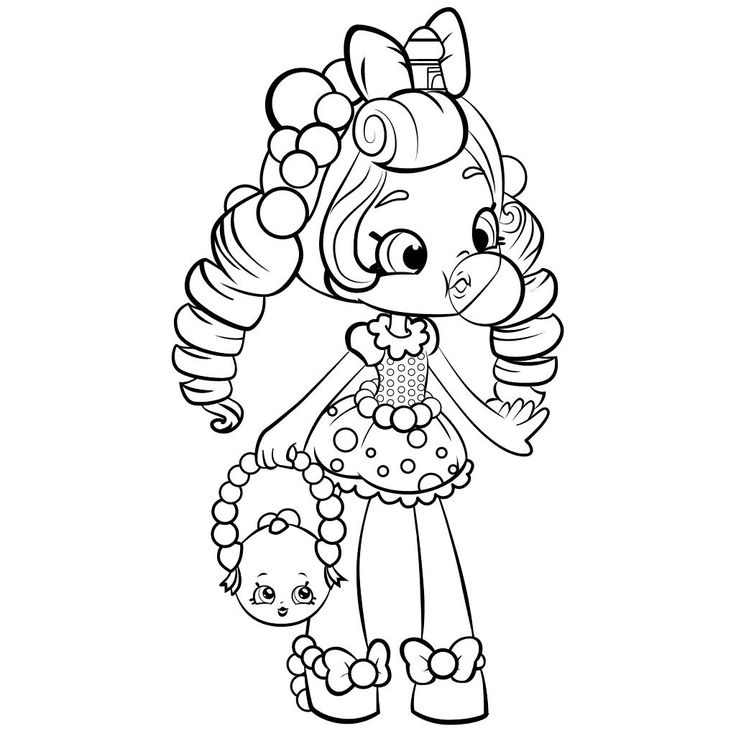 http://colorings.co/shopkins-coloring-pages-for-girls/ #Coloring, #Girls, #Pages, #Shopkins