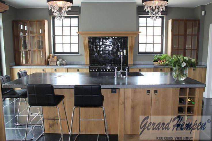 Gerard hempen keukens van hout landelijke keukens moderne houten keukens op maat keuken - De moderne keukens ...
