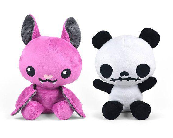3819cecd0d78e Chibi Horror Animal Plush Sewing Pattern .pdf Tutorial Rabbit Panda ...