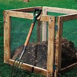 Ideas for compost bins: Organizations Gardens, Compost Bins Diy, Diy Compost, Easy Compost, Compost Yardstuff, Gardens Ideasproject, Compost Pile, Compost Yard Stuff, Woodworking Plans