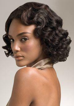 Terrific Hairstyles For Black Women Finger Waves And Black Women On Pinterest Short Hairstyles Gunalazisus