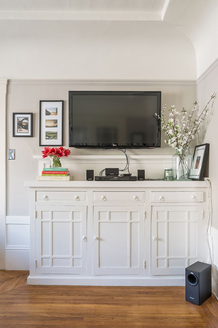 Best Images About Media BuiltIns On Pinterest -  living room built in cabinets