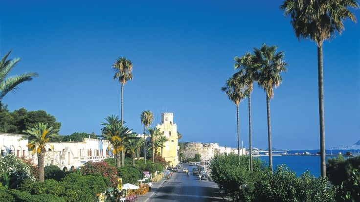 The Prom in Kos Town Kos Greece