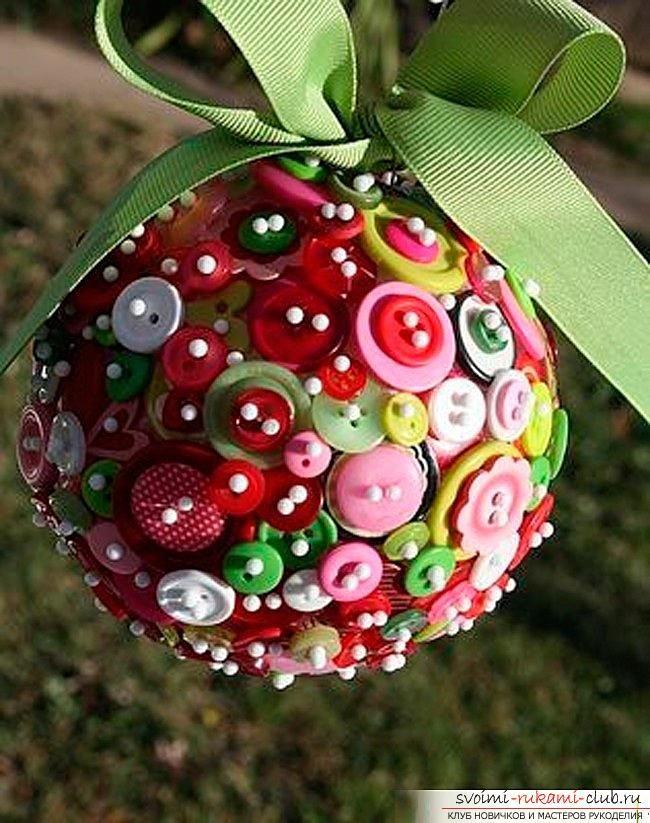 Картинки новогодние шарики своими руками