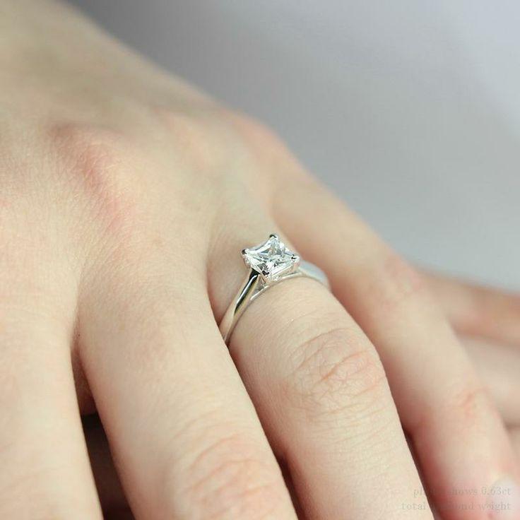diamond rings on fingers princess cut wwwpixsharkcom