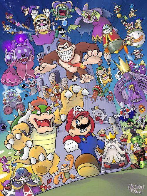 Enemigos Mario