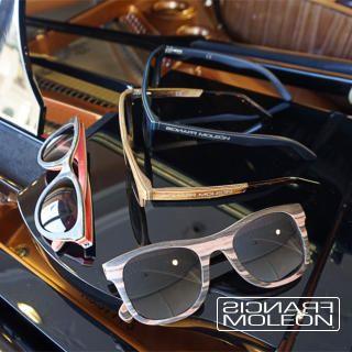 Francis Moleón Eyewear Collection www.francis-moleon.com Gafas Artesanales Realizadas con Maderas nobles.