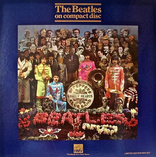 10 great Sgt. Pepper covers, detail images, labels, inserts and variations: Sgt. Pepper's First Issue on CD