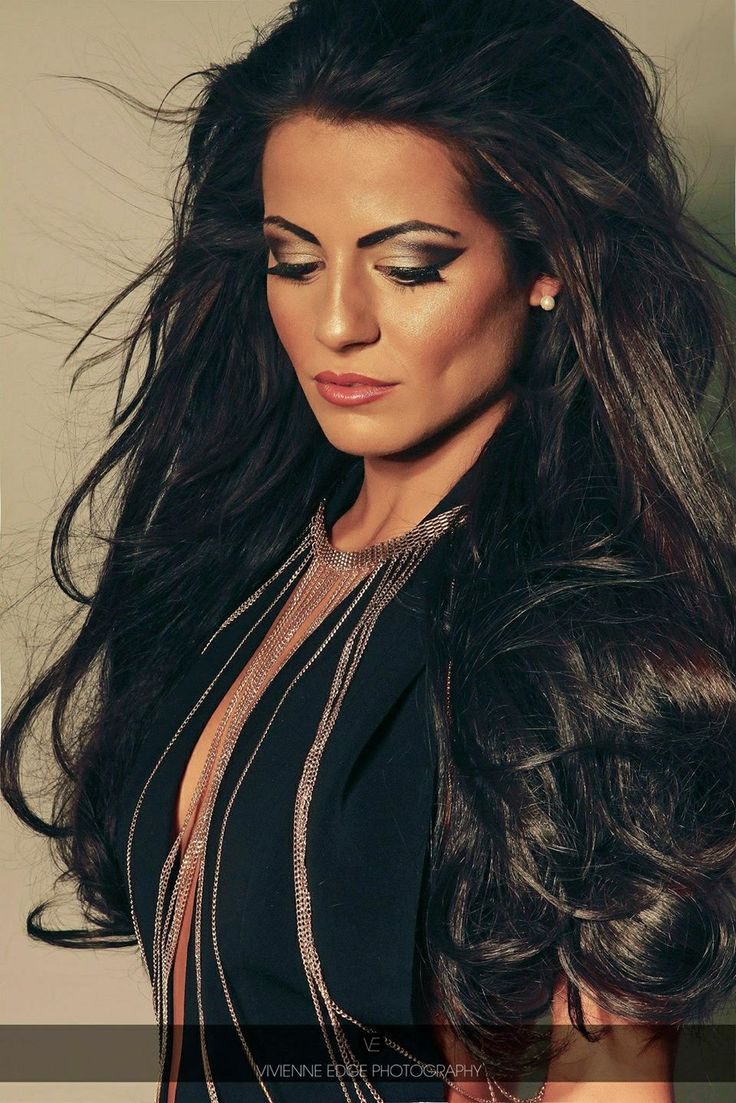 Great lengths photoshoot