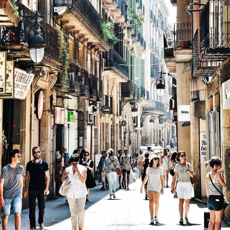 Summer in Barcelona, Ciutat Vella