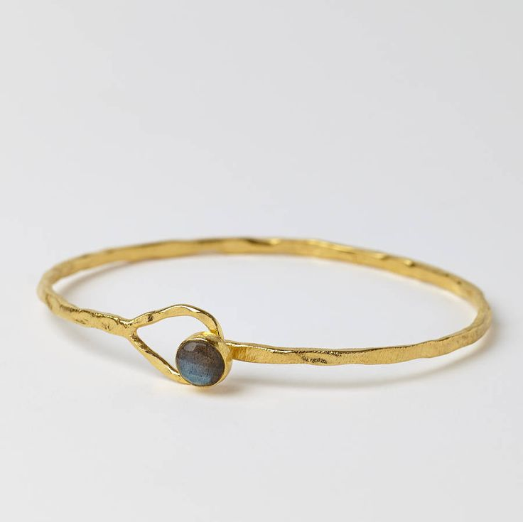 Room 356 Astrid Labradorite Gem Bangle