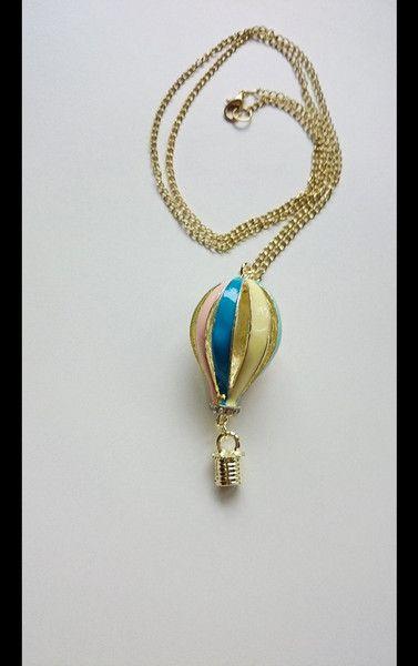 Geschenke für Frauen - Air Ballon Halskette - ein Designerstück von atelier-house-decor bei DaWanda