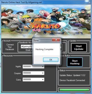 Naruto Online Cheat