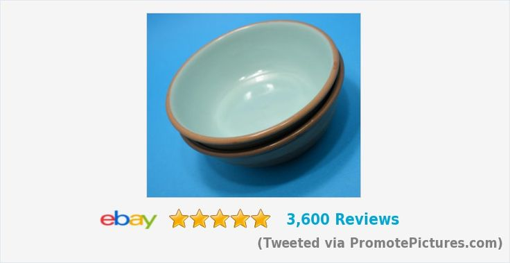 Taylor Smith Taylor #TST CHATEAU BUFFET Cereal Bowls Brown Blue PAIR | eBay #taylor #taylorsmith #Aqua #CatBowls