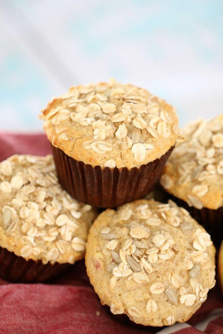 Oat & Apple Muffins
