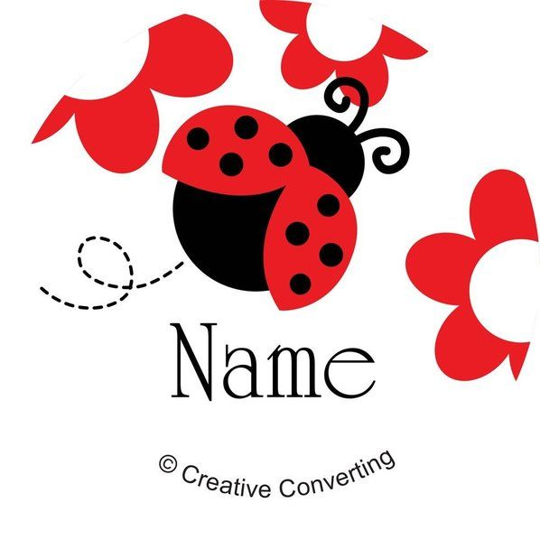 Check out Ladybug Party Personalized Mini Stickers - Cheap Ladybug Party Supplies from Wholesale Party Supplies
