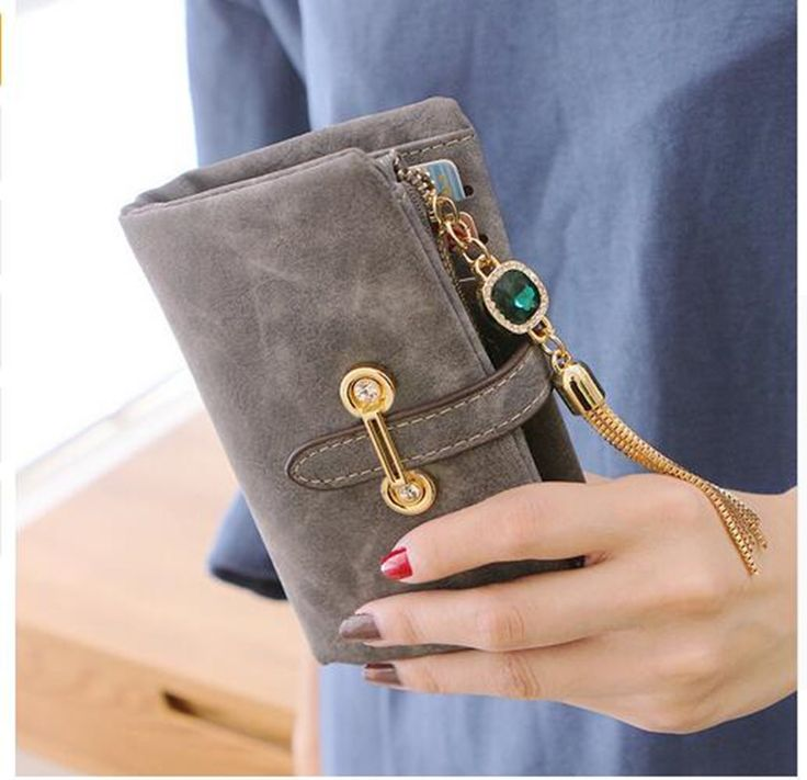 Women Wallet With Coin Purse And Card Holders //Price: $8.95 & FREE Shipping //
