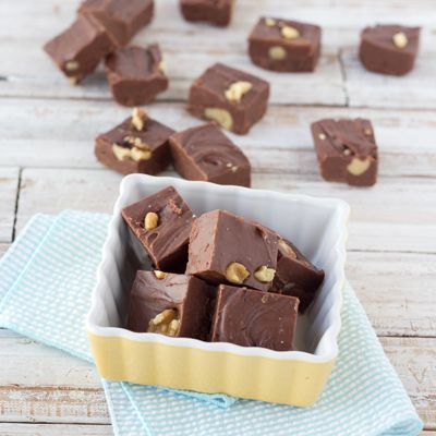 """The reviews are in! This five-star recipe makes an unforgettably delectable holiday gift – one family, friends, and coworkers won't soon forget. And with easy variations, you can make milk chocolate, butterscotch, or peanutty chocolate fudge.<BR><BR> This """"gluten free"""" recipe was developed using products either labeled as """"gluten-free"""" or likely to be gluten free based on the ingredients typically listed on the products' labels. Nevertheless, we cannot gu..."""