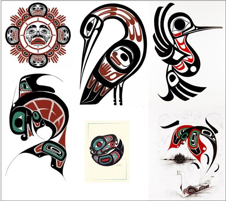 haida northwest coast tribal forms sun bird fish first nations art pinterest fish. Black Bedroom Furniture Sets. Home Design Ideas