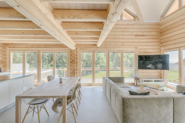 Scandinavian style log cabins and holiday lodges for quality living