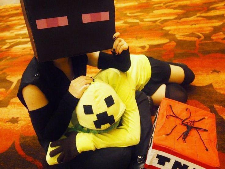 minecraft skin red-enderman-girl | skiny | Minecraft skins ...