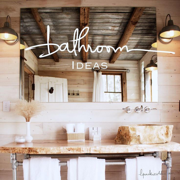 616 Best Rustic Bathrooms Images On Pinterest Bathroom Ideas Cabin Bathrooms And Cabin Ideas