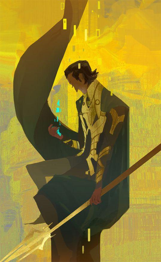 seventypercentethanol: god of mischief.