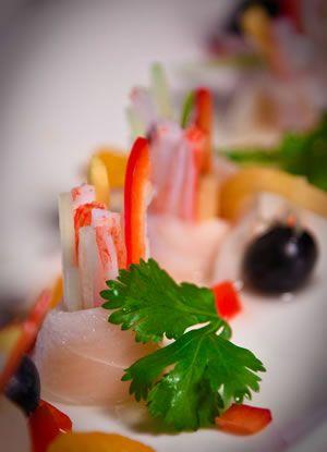 Sushi Menu at Dozo