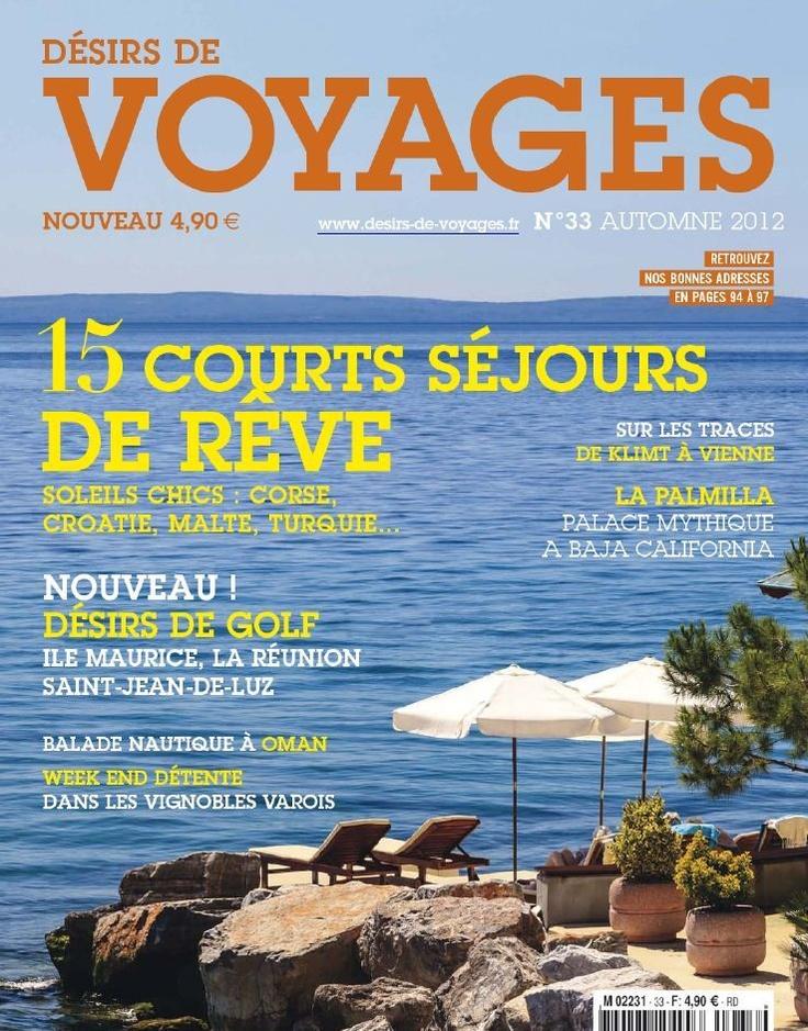 Désirs de Voyages 33 - Automne 2012...!!!
