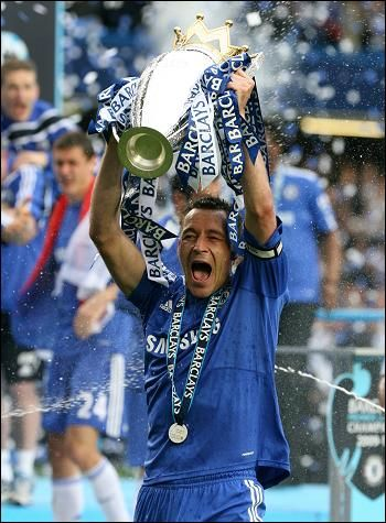 John Terry because he is the definition of Captain, Leader, Legend!