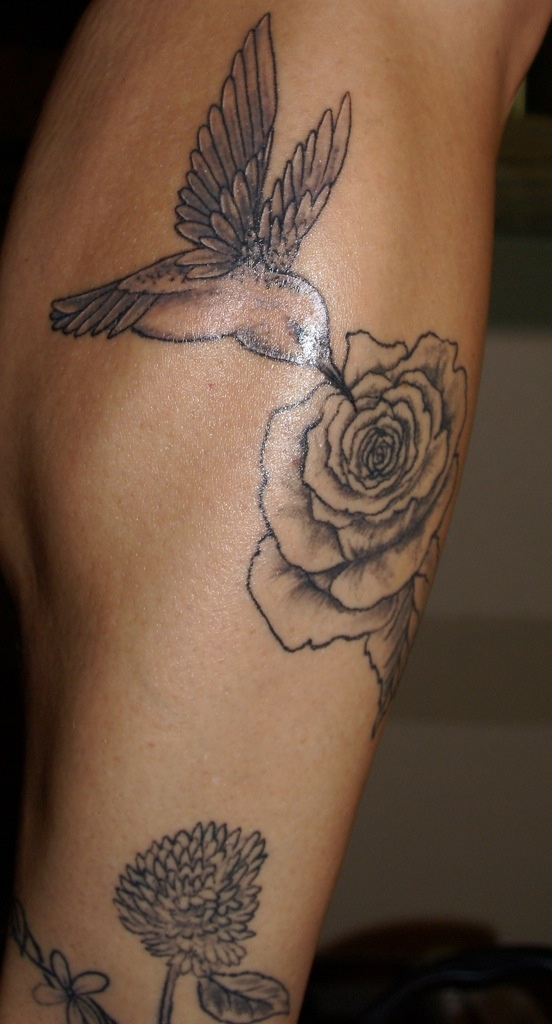 black and white hummingbird tattoos pinterest. Black Bedroom Furniture Sets. Home Design Ideas