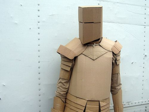 What is best looking armor in oblivion in your opinion for Cardboard armour template