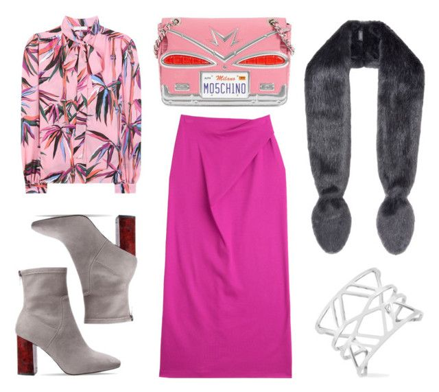 Rosy autumn by lazygadabout on Polyvore featuring moda, Emilio Pucci, Jil Sander, Moschino, Vince Camuto and Helen Moore