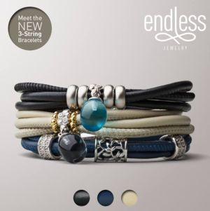 Endless : 3-String bracelet | Bijouterie Rich'Or