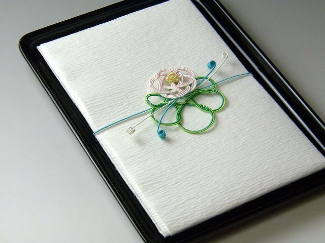 Японские ремесла. 水引き - мидзухики. Причудливое плетение.
