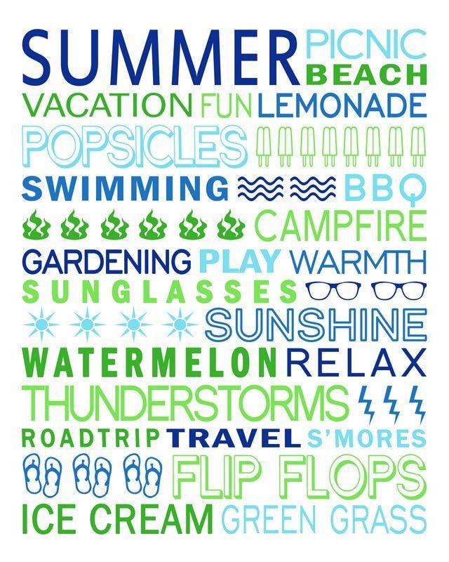 Jodi Bean's Blog: SUMMER IS HERE!