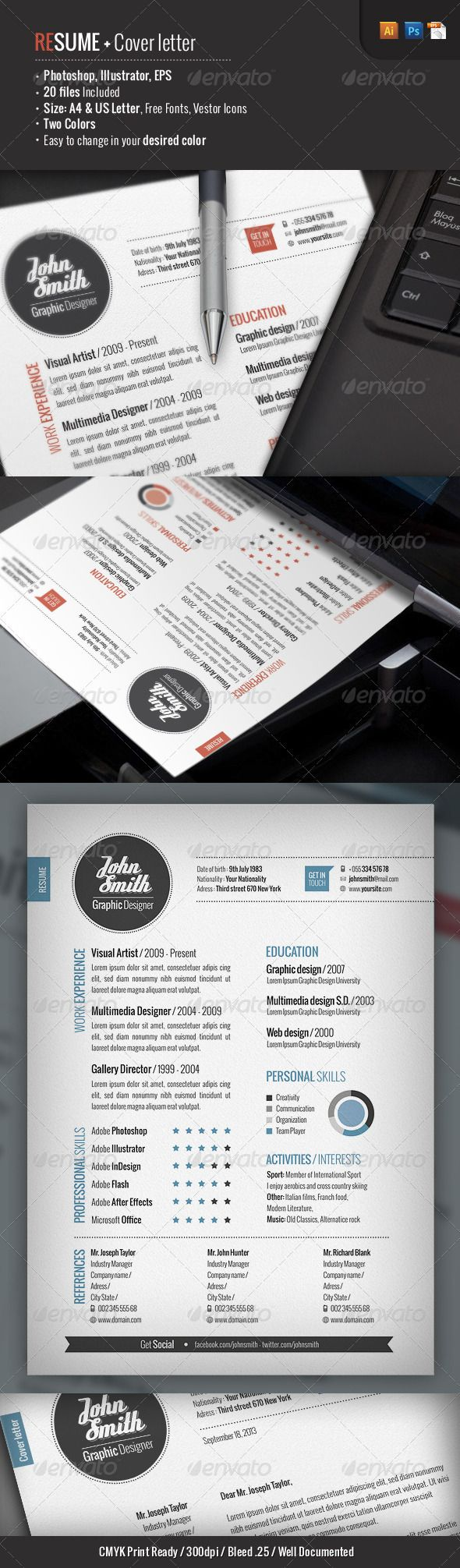 1000 images about cv on cover letter resume