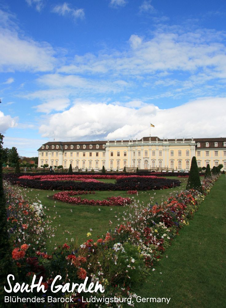 South Garden of Blühendes Barock, Ludwigsburg, Germany