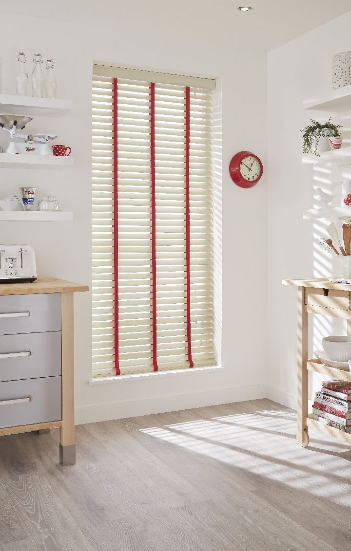 Add Matching Tape To Your Made To Measure Wooden Blinds To Bring Your Home  Décor Colour
