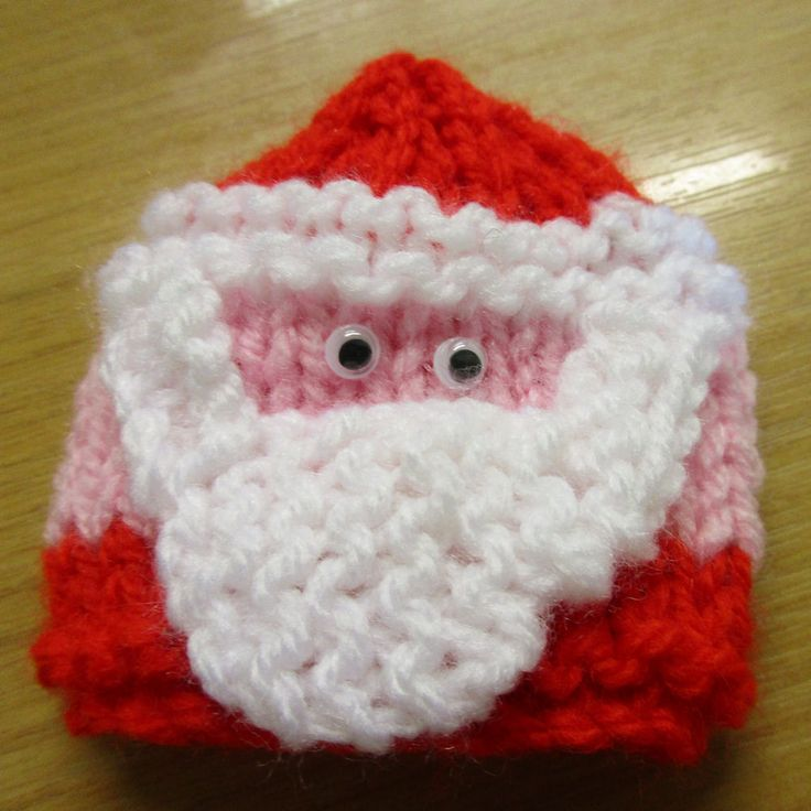 Innocent Smoothies Big Knit Hat Patterns - Santa