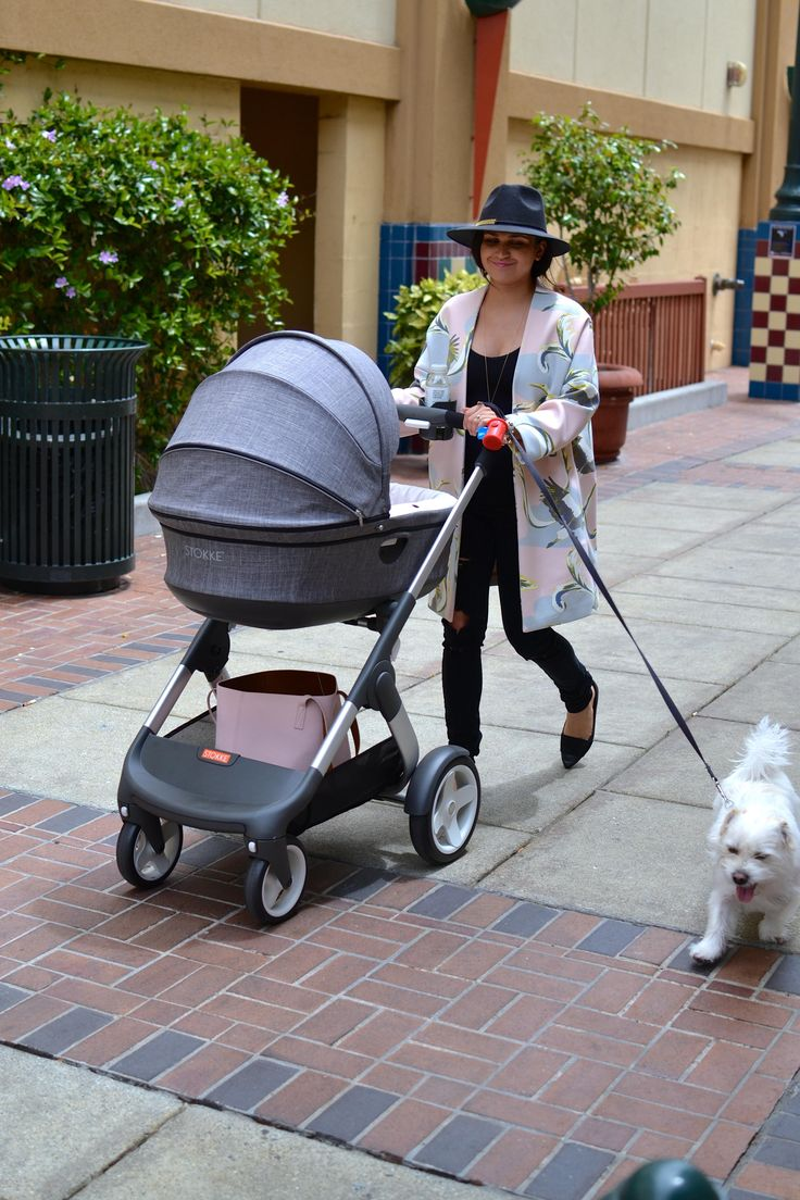 New mama stroll with Stokke Crusi Stroller