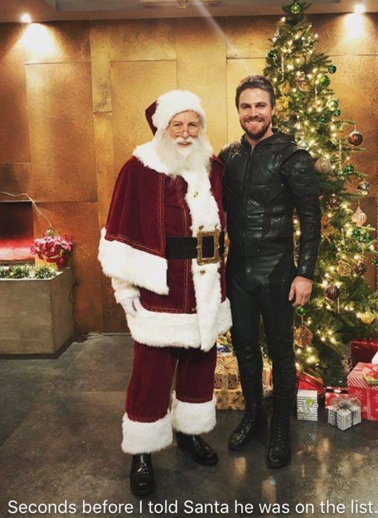 Stephen Amell...Merry Christmas ❤️❤️