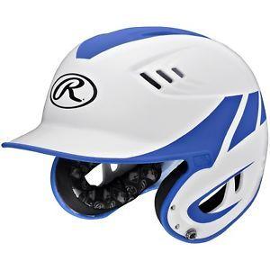 a rawlings serie velo junior 2 tone casa casco de bateo azul r16h2j wmr